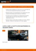 Cómo cambiar: filtro de polen - Audi A4 B5 berlina | Guía de sustitución