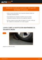 Cómo cambiar: muelles de suspensión de la parte delantera - VW Lupo 6X1 | Guía de sustitución