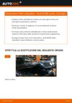 Come cambiare filtro antipolline su Audi A4 B5 sedan - Guida alla sostituzione