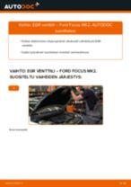 Kuinka vaihtaa EGR venttiili Ford Focus MK2-autoon – vaihto-ohje