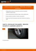 Kuinka vaihtaa jousijalan tukilaakeri taakse BMW E60-autoon – vaihto-ohje
