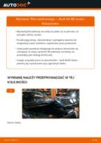 Jak wymienić filtr kabinowy w Audi A4 B5 sedan - poradnik naprawy