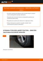 Jak wymienić poduszka amortyzatora tył w BMW E60 - poradnik naprawy