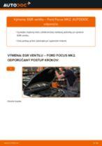 Ako vymeniť EGR ventil na Ford Focus MK2 – návod na výmenu