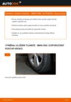 Jak vyměnit zadní uložení tlumiče na BMW E60 – návod k výměně