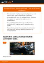 Audi A4 B6 Avant φροντιστήριο επισκευής και εγχειριδιο