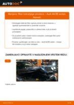 Kako zamenjati avtodel filter notranjega prostora na avtu Audi A4 B5 sedan – vodnik menjave