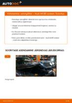 Kuidas vahetada Audi A4 B5 sedaan salongifilter – õpetus