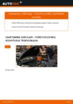 Kuidas vahetada ja reguleerida Agr klapp: tasuta pdf juhend