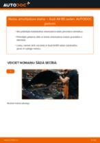 AUDI A4 Amortizators maiņa: bezmaksas pdf