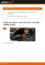 Kā nomainīt: EGR vārstu Ford Focus MK2 - nomaiņas ceļvedis