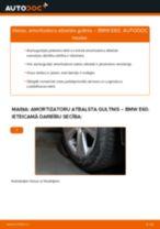 Kā nomainīt: aizmugures amortizatoru atbalsta gultņi BMW E60 - nomaiņas ceļvedis