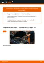 Udskiftning af Fjäderben bag og foran AUDI gør det selv - online manualer pdf