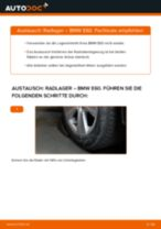 OPEL ANTARA Radnabe wechseln hinten links rechts Anleitung pdf