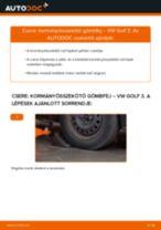 Autószerelői ajánlások - Golf 3 2.0 Kerékcsapágy cseréje