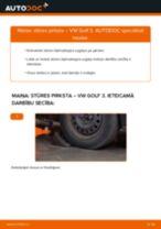Kā nomainīt: stūres pirksta VW Golf 3 - nomaiņas ceļvedis