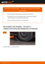 Cum să schimbați: cap de bara la VW Golf 3 | Ghid de înlocuire