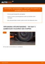 Spurstangenkopf veranderen VW GOLF: gratis pdf