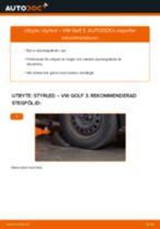 Byta styrled på VW Golf 3 – utbytesguide