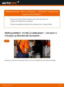 Comment effectuer un remplacement de Filtre à Carburant sur 2.8 VR6 VW Golf III