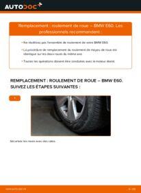 Comment effectuer un remplacement de Roulement De Roues sur 530d 3.0 BMW E60