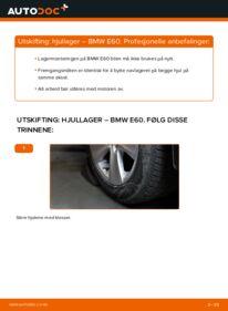 Slik bytter du Hjullager på BMW 5 SERIES