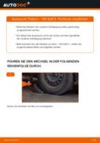 Wie VW Golf 3 Federn vorne wechseln - Schritt für Schritt Anleitung