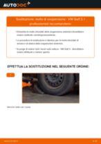 Come cambiare molle di sospensione della parte anteriore su VW Golf 3 - Guida alla sostituzione