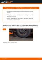 Kako zamenjati avtodel vzmeti spredaj na avtu VW Golf 3 – vodnik menjave