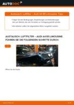 Wie Lagerung Radlagergehäuse beim MERCEDES-BENZ GLA wechseln - Handbuch online