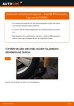 Wie Achslager AUDI A4 tauschen und einstellen: PDF-Tutorial
