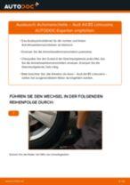 VOLVO XC90 Radbremszylinder wechseln rechts + links Anleitung pdf