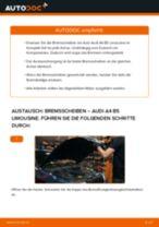 Wie Audi A4 B5 Limousine Bremsscheiben hinten wechseln - Schritt für Schritt Anleitung