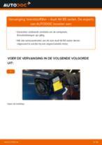 Hoe brandstoffilter vervangen bij een Audi A4 B5 sedan – vervangingshandleiding