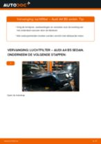 Hoe luchtfilter vervangen bij een Audi A4 B5 sedan – vervangingshandleiding
