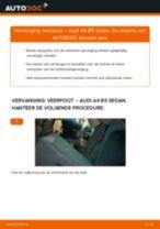 Hoe veerpoot achteraan vervangen bij een Audi A4 B5 sedan – vervangingshandleiding
