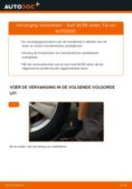 Hoe homokineet vervangen bij een Audi A4 B5 sedan – vervangingshandleiding