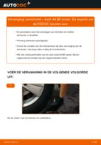 Hoe asmanchet vervangen bij een Audi A4 B5 sedan – vervangingshandleiding