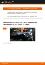 Hoe luchtfilter vervangen bij een Audi A4 B5 sedan – Leidraad voor bij het vervangen