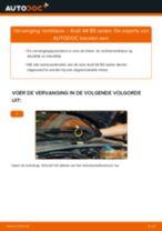 Hoe remklauw achteraan vervangen bij een Audi A4 B5 sedan – Leidraad voor bij het vervangen