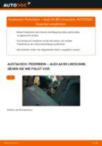 Wie Federbein AUDI A4 auswechseln und einstellen: PDF-Anleitung