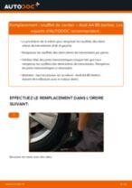 SKF VKN400 pour A4 Berline (8D2, B5) | PDF tutoriel de changement
