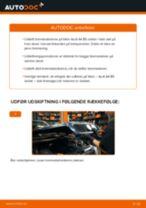 Udskift bremseskiver for - Audi A4 B5 sedan   Brugeranvisning