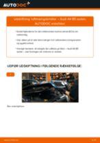 Udskift luftmængdemåler - Audi A4 B5 sedan   Brugeranvisning