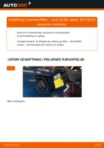 MANN-FILTER WK 853/3 x til A4 Sedan (8D2, B5) | PDF udskiftnings guide