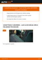 Skift Fjäderben AUDI A4: pdf gratis