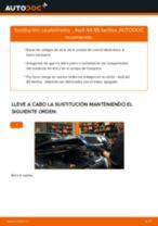 Cómo cambiar: caudalímetro - Audi A4 B5 berlina | Guía de sustitución