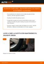 Cómo cambiar: fuelle palier - Audi A4 B5 berlina | Guía de sustitución