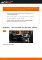 Come cambiare è regolare Kit riparazione pinza freno AUDI A4: pdf tutorial