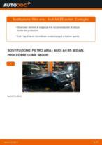 Come cambiare filtro aria su Audi A4 B5 sedan - Guida alla sostituzione